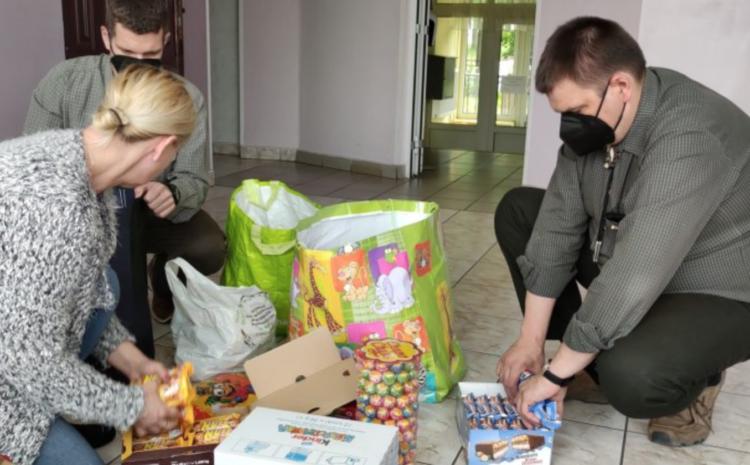 ZO PZŁ w Olsztynie odwiedził Centrum Placówek Opiekuńczo-Wychowawczych